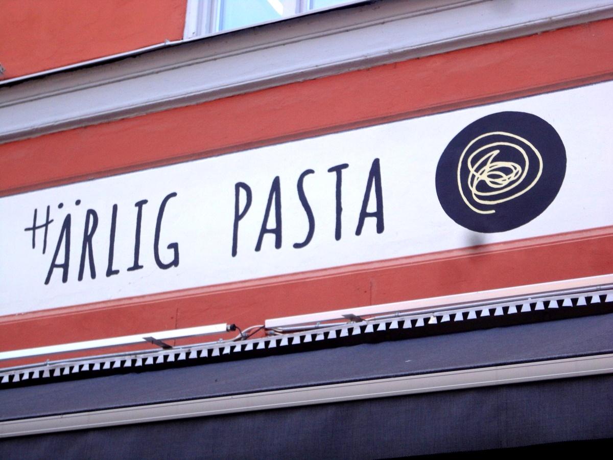 härlig pasta kvartersmenyn